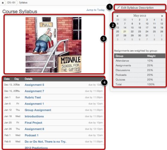 Syllabus Screenshot
