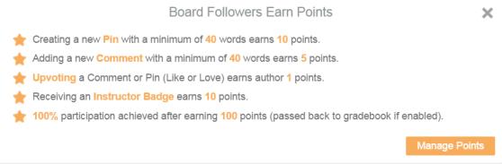 Board Points