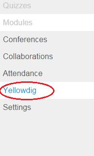 Yellowdig link